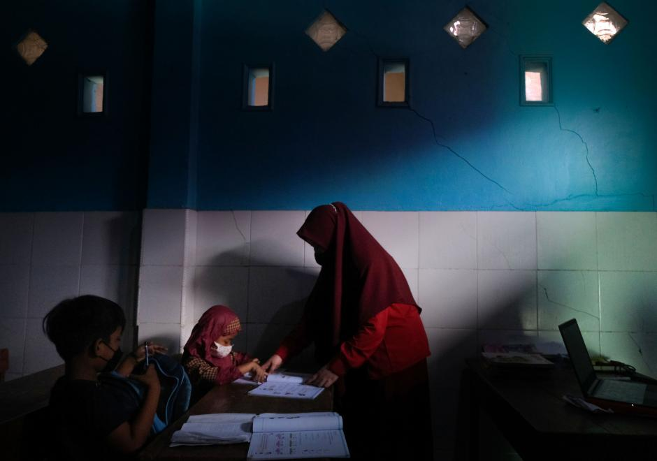 Istiqamah Cerdaskan Anak-anak di Utara Makassar-0