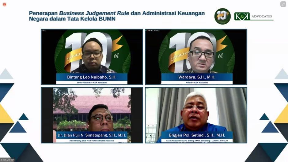 Pentingnya Penerapan Business Judgement Rule dan Administrasi Keuangan Negara dalam Tata Kelola BUMN-2