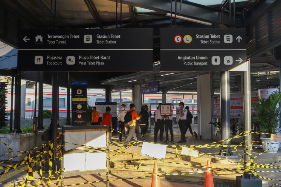 Melihat Lebih Dekat Wajah Baru Halte Integrasi Stasiun Tebet-4