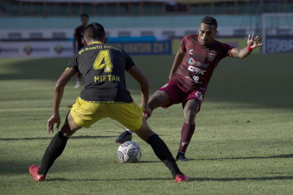 Borneo FC Hadapi Barito Putera di Stadion Wibawa Mukti-2