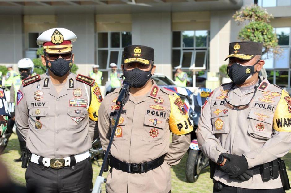 Gelar Operasi Patuh Candi, Kapolda Jateng Tegaskan Seratus Persen Bersifat Simpatik dan Humanis-2
