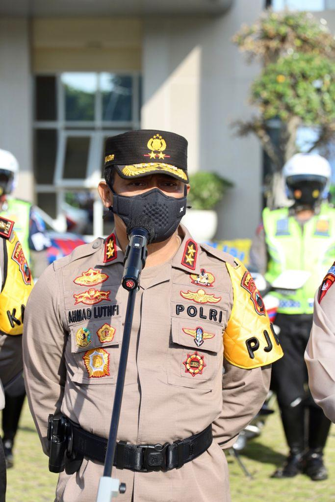 Gelar Operasi Patuh Candi, Kapolda Jateng Tegaskan Seratus Persen Bersifat Simpatik dan Humanis-1