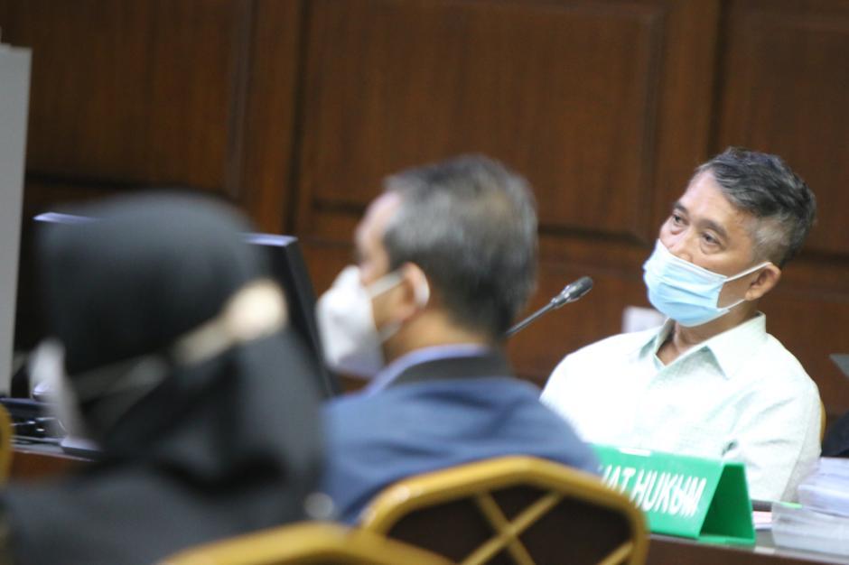 Terdakwa Bachtiar Effendi Jalani Sidang Kasus Korupsi Asabri-3
