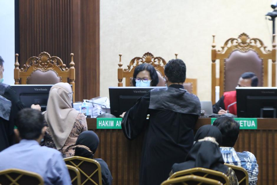 Terdakwa Bachtiar Effendi Jalani Sidang Kasus Korupsi Asabri-1