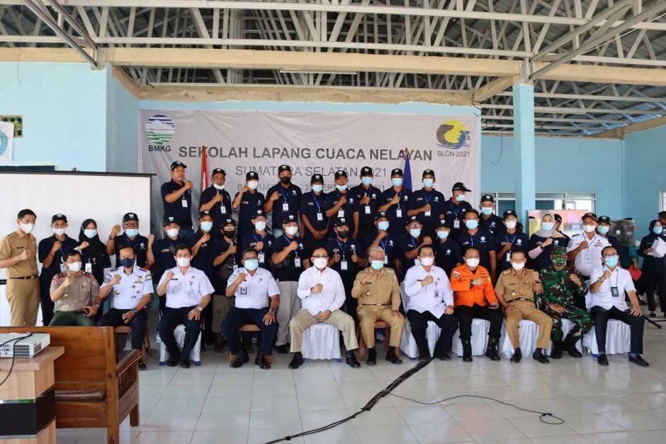 BMKG SMB II Palembang Gelar Sekolah Lapang Cuaca Nelayan-2