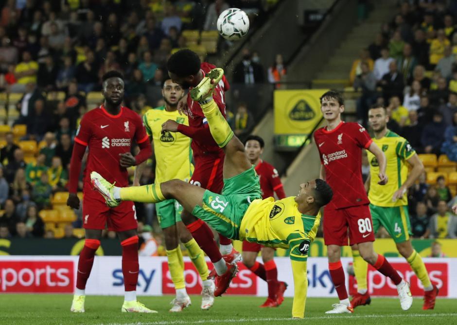 Piala Inggris 2021/2022 : Liverpool Hancurkan Norwich City 3-0, Takumi Minamino Cetak Brace-3