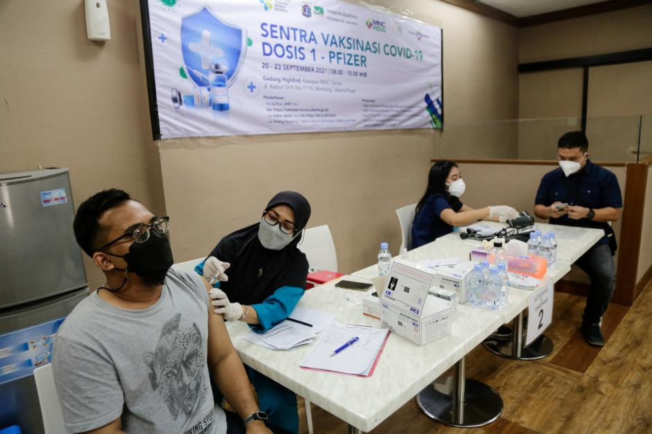 Hari Ketiga Sentra Vaksinasi Covid-19 MNC Peduli, Antusiasme Warga Masih Tinggi-0