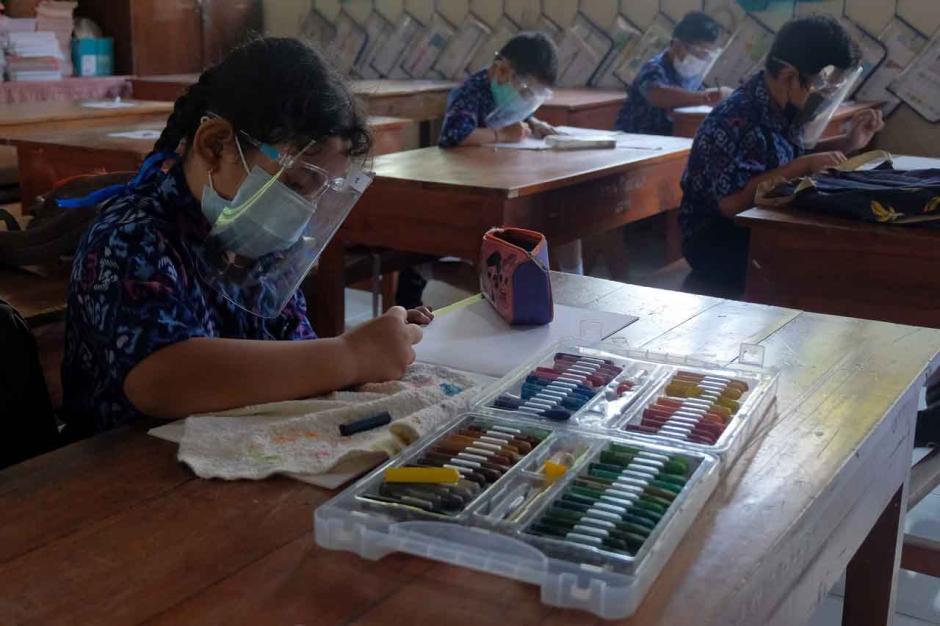 Pembelajaran Tatap Muka Terbatas Diizinkan di Bali-1