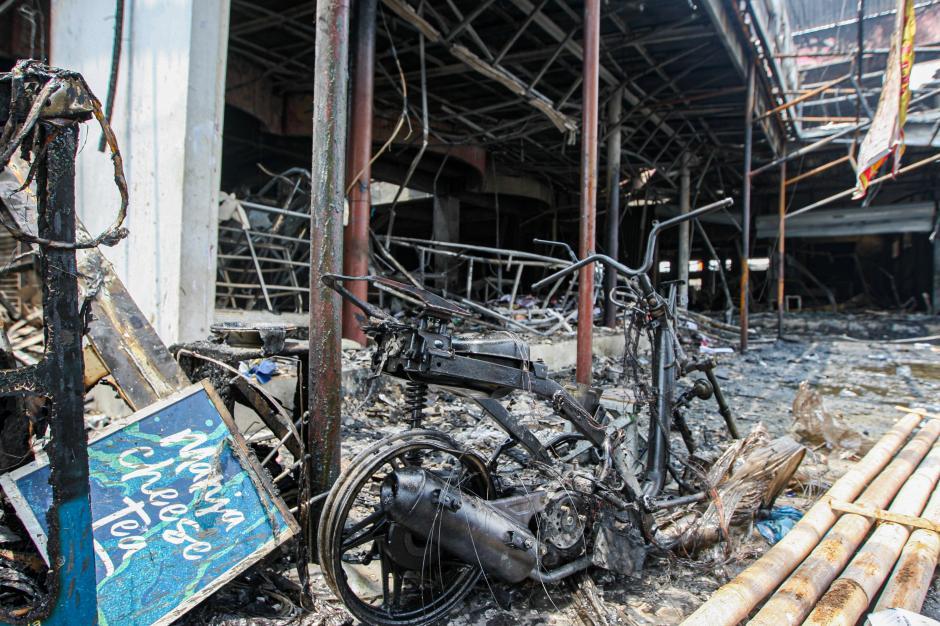 Kebakaran Swalayan di Cilandak Diduga Akibat Korsleting Listrik-3