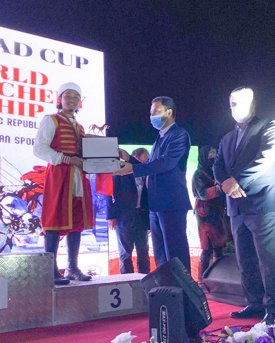 Indonesia Tempati Peringkat III Pada Kejuaraan Dunia Horseback Arcehry di Iran-0
