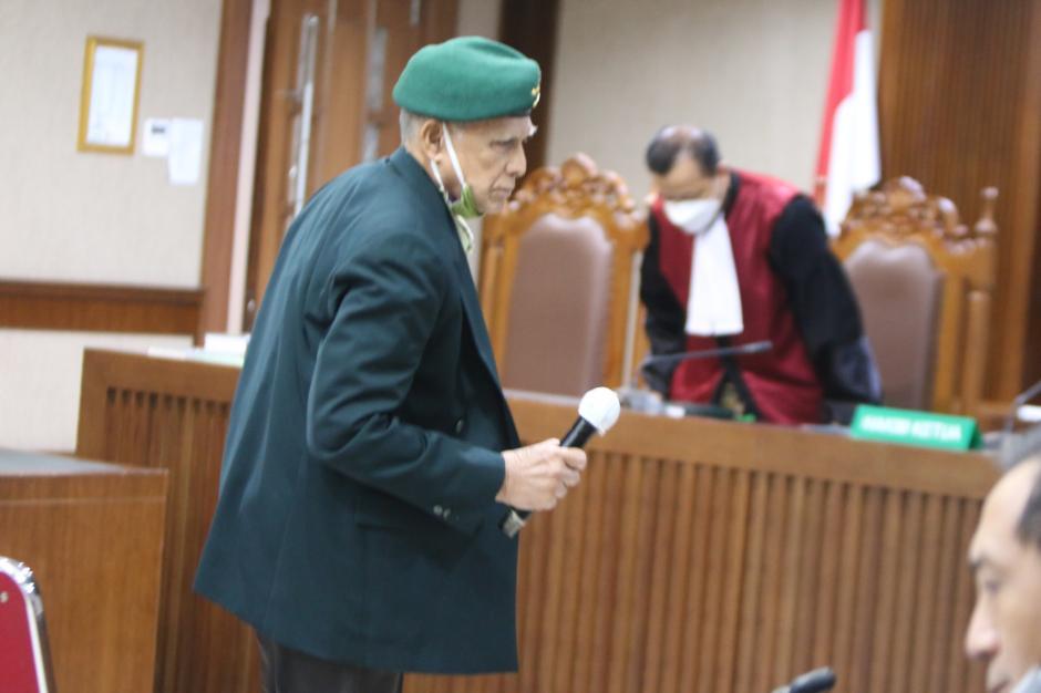Diputuskan Bersalah, Kivlan Zen Divonis 4 Bulan Penjara-0