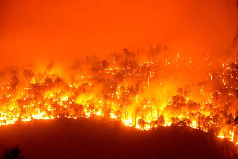Angin Kencang Sebabkan Kebakaran Hutan Nasional Sequoia di California Meluas-2