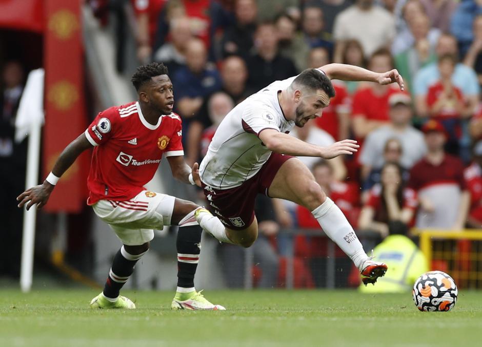Begini Kegigihan Pemain Aston Villa Saat Permalukan Manchester United di Old Trafford-6