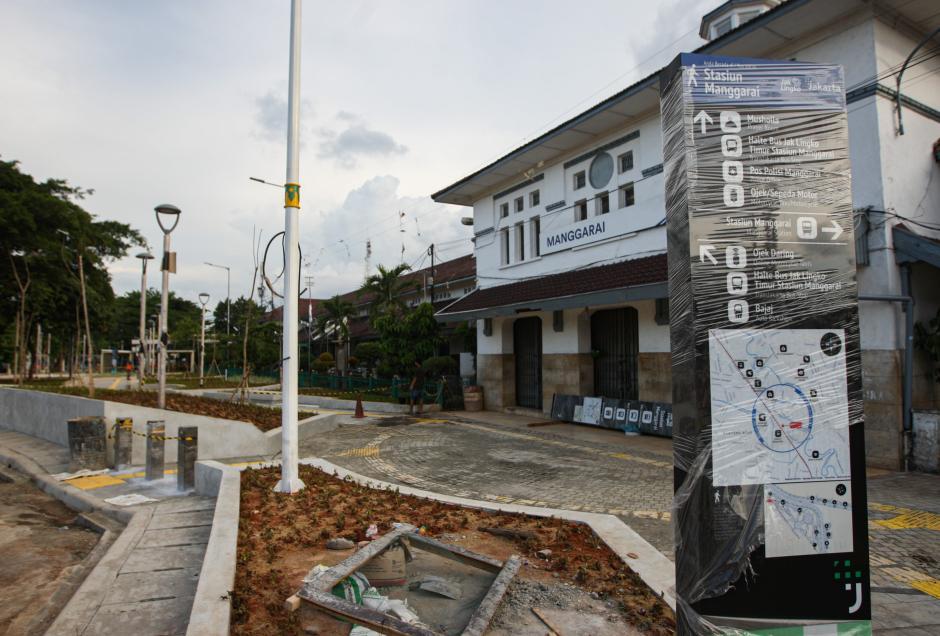 Revitalisasi Stasiun Manggarai Jadi Kawasan Antarmoda Terpadu-4