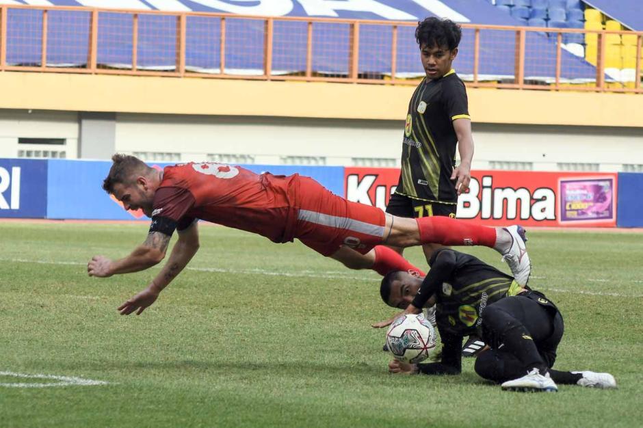 Barito Putera Kalahkan PSM Makassar 2-0-2