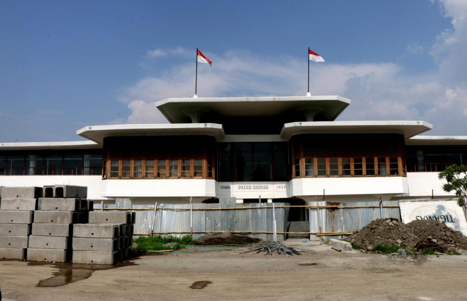 Daftar Ulang Pedagang Jelang Menempati Lapak di Pasar Johar Semarang-4