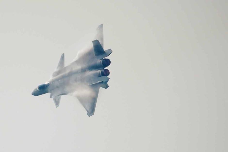 Spektakuler, Begini Pertunjukkan Airshow China di Zhuhai-6