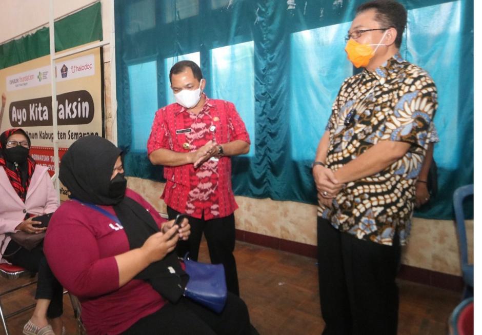Percepat Vaksinasi di Kabupaten Semarang, Sentra Vaksinasi dan Tim Vaksin Keliling Diluncurkan-1