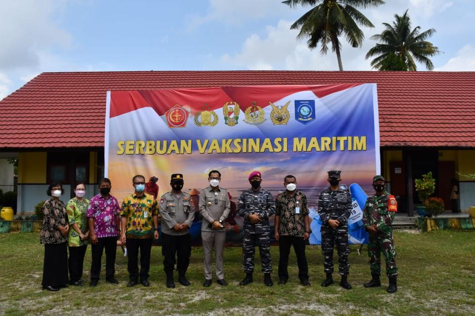 TNI AL Lantamal III Geruduk Pelajar dan Masyarakat di Kepulauan Belitung-2