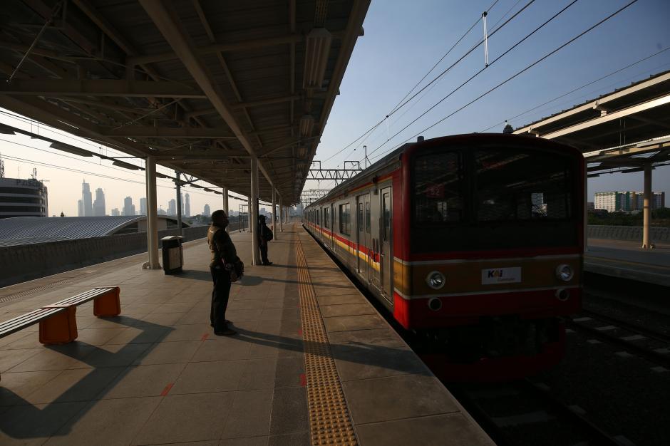 Wajah Baru Stasiun Manggarai Elevated Track-6