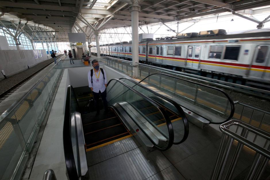 Wajah Baru Stasiun Manggarai Elevated Track-2