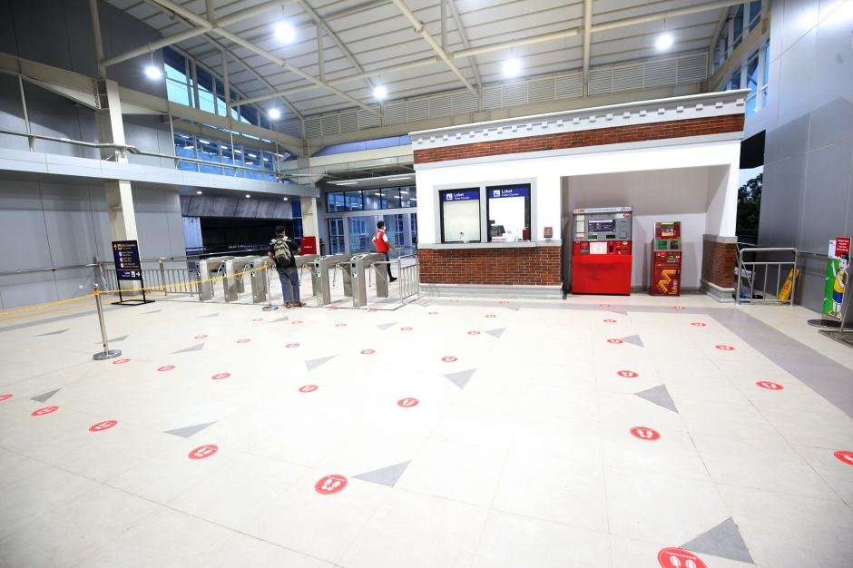 Wajah Baru Stasiun Manggarai Elevated Track-4
