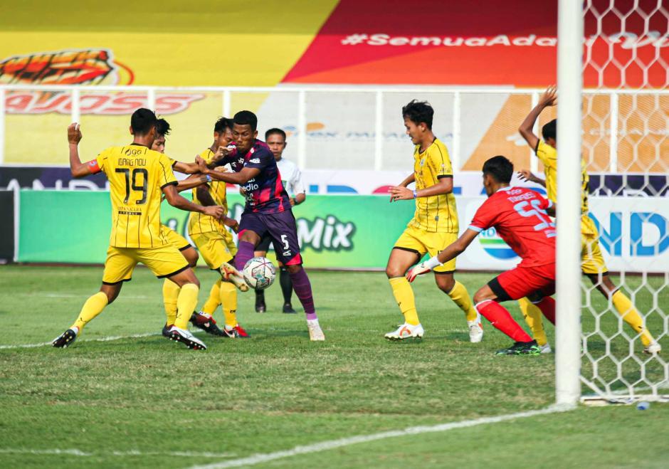 Laga Ketiga, Rans Cilegon Ditahan Imbang Perserang 0-0-1