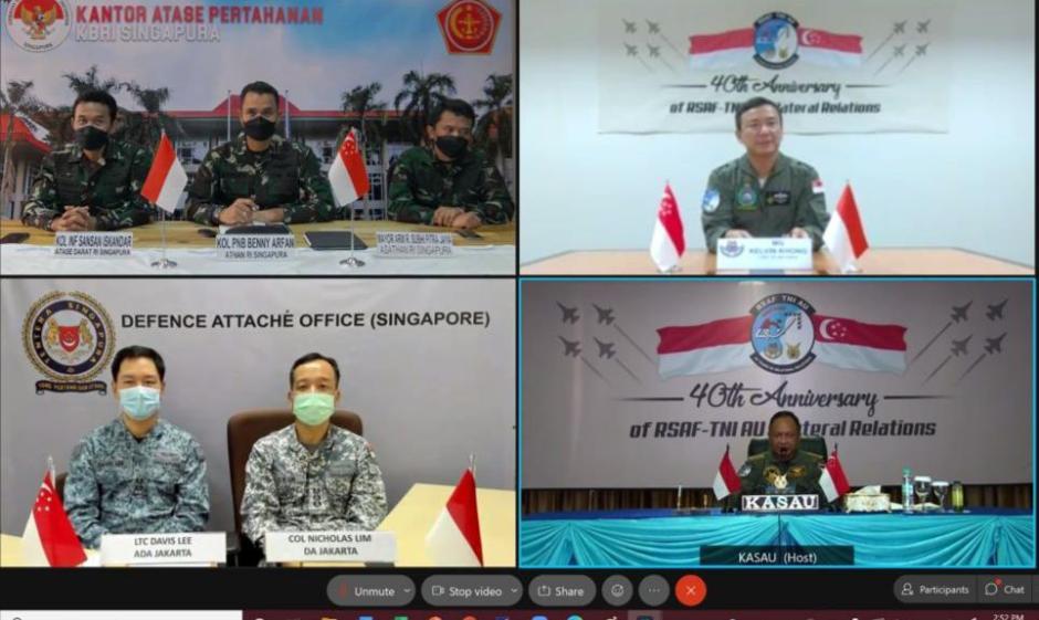 Rayakan 4 Dekade Hubungan Bilateral, Kasau dan CAF RSAF Tandatangani Deklarasi Bersama-3