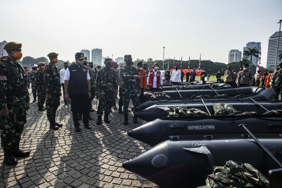 Apel Kesiapsiagaan Musim Hujan DKI Jakarta-0
