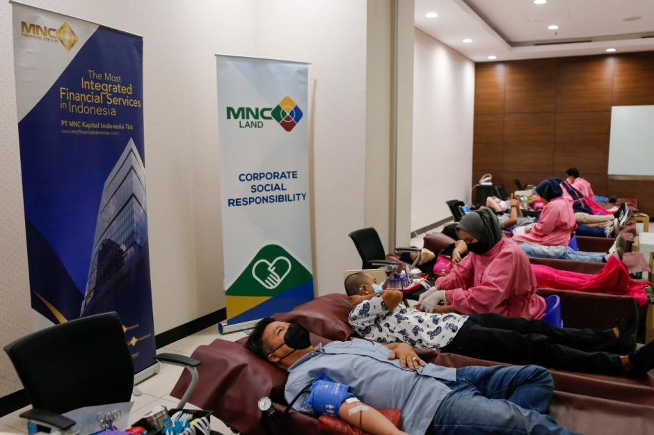 Gelar Kegiatan Donor Darah, MNC Peduli Ajak Karyawan Ikut Donor Darah-1