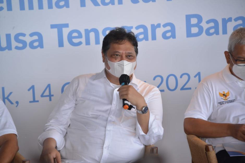Menko Airlangga Semangati Penerima Kartu Prakerja di Provinsi NTB-0